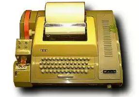 ASR33 teletype